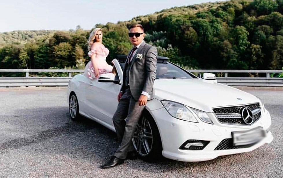 Аренда кабриолета на свадьбу