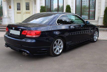BMW 320d Cabrio в крыму