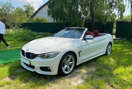 BMW 4-series Cabrio белая