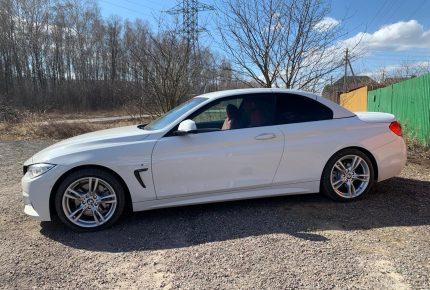 BMW 4-series Cabrio в Крыму